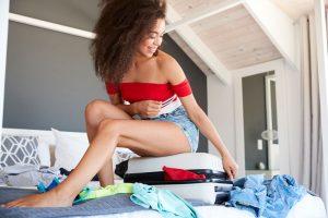 menstruatia in vacanta